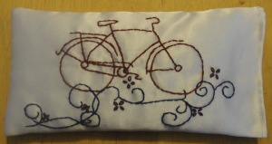 terra life dream pillow - bike